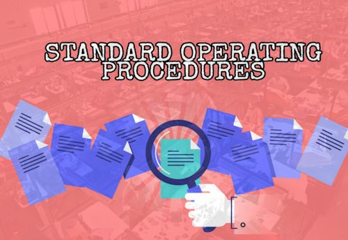 Standard Operating Procedure for MSME Sector