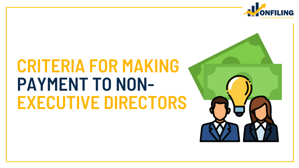 MAKING PAYMENT TO NON- EXECUTIVE DIRECTORS